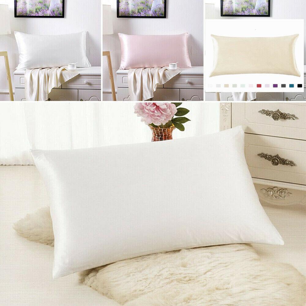 Mulberry Silk Pillowcase Luxurious 25 Momme Standard Queen