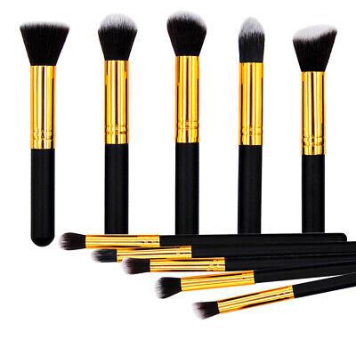 10pcs/Set Makeup Brushes Set Cosmetic Eyeshadow Powder Foundation Brush