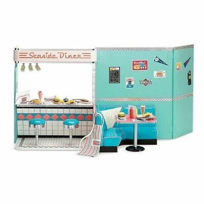 50s Diner Girl (American Girl Maryellen's SEASIDE DINER Set complete Brand New in Box)