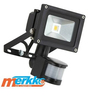 led pir light 20w sensor flood motion security floodlight outdoor ip65 10 watt ebay. Black Bedroom Furniture Sets. Home Design Ideas
