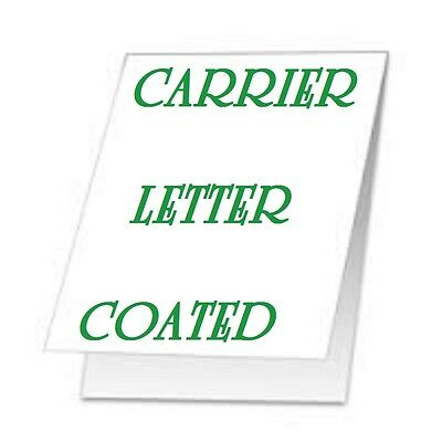 Carrier Sleeve For Laminating Laminator Pouches Letter Size Coated Qty 1