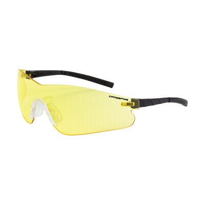 Crossfire Blade Yellowamber Anti Fog Safety Glasses Sunglasses Shooting Z87