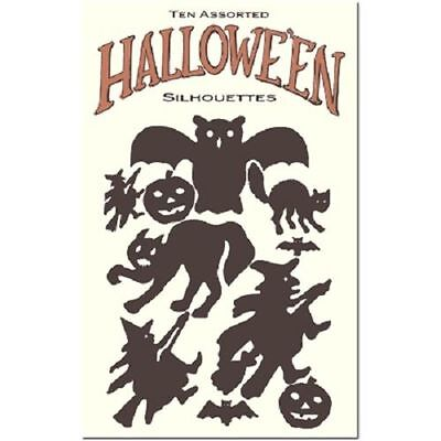 Halloween Inspired Party Decorations Silhouette Spooky Witch Cat Shapes #Shk-13 (Halloween Witch Silhouette)