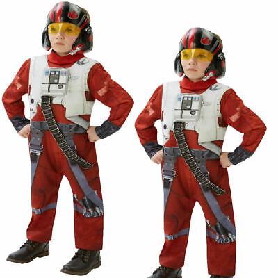 Star Wars Kinder Jungen Kinder Poe Xwing Kämpfer - Kinder Star Outfit