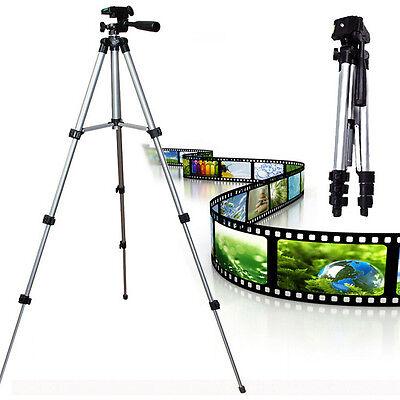 Professional Aluminum Portable Tripod Stand Camcorder Camera for Canon Nikon