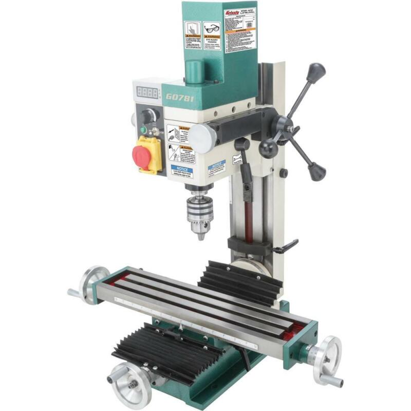 "Grizzly G0781 4"" x 18"" 3/4 HP Mill/Drill"