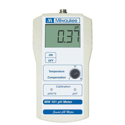 Milwaukee Instruments Ph Level Portable Meter Micro Processor Tester Mw101