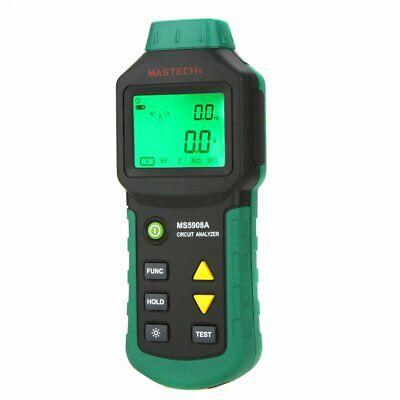 Mastech Ms5908ams5908c Lcd Circuit Analyzer Trms Measuring Ac Voltage