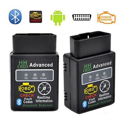 V2.1 ELM327 HH OBD 2 OBDII Car Auto Bluetooth Diagnostic Tool Interface Scanner for sale  Shipping to Canada