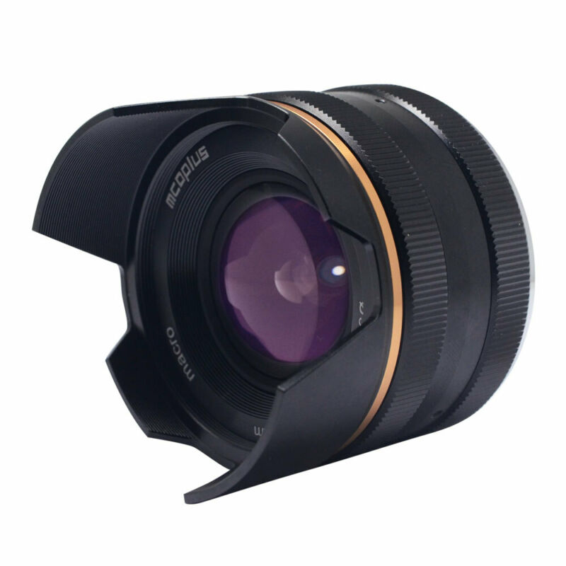 14mm f/3.5 APS-C Wide Angle Manual Focus Macro Lens for Sony E-mount A6000 A7II
