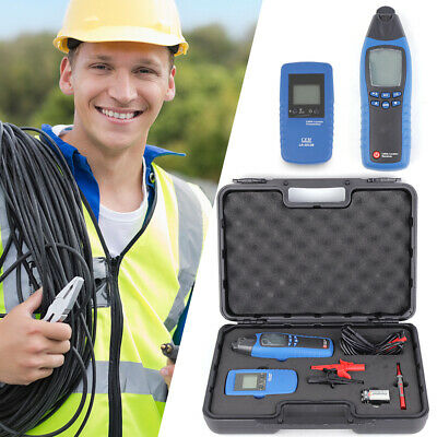 Cable Fault Locator Wire Finder Tester Tracer Underground Pipe Cable Locator Us