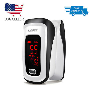 Blood Oxygen Finger Pulse Oximeter Fingertip Monitor Spo2 Heart Rate Meter Fda