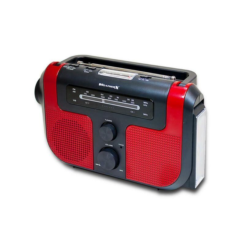 WeatherX AM/FM/Weather Radio with Flashlight-WR383R GA
