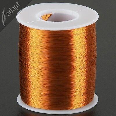 Magnet Wire, Enameled Copper, Natural, 32 AWG (gauge), 200C, ~1 lb, 4900 ft