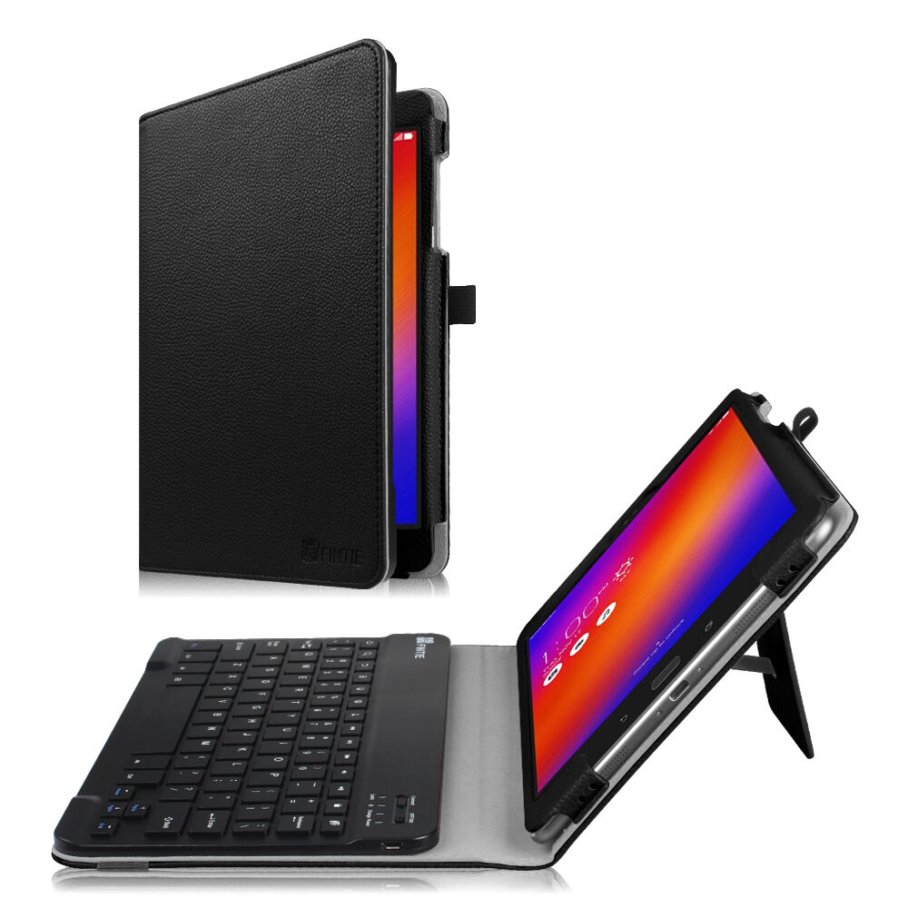 Fintie Bluetooth Keyboard Case Folio Cover For Asus Zenpa...