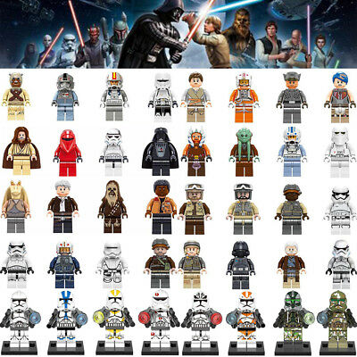 Star Wars Darth Vader Tusken Raider Clone Soldiers Mini Figures Blocks Fits Lego ()