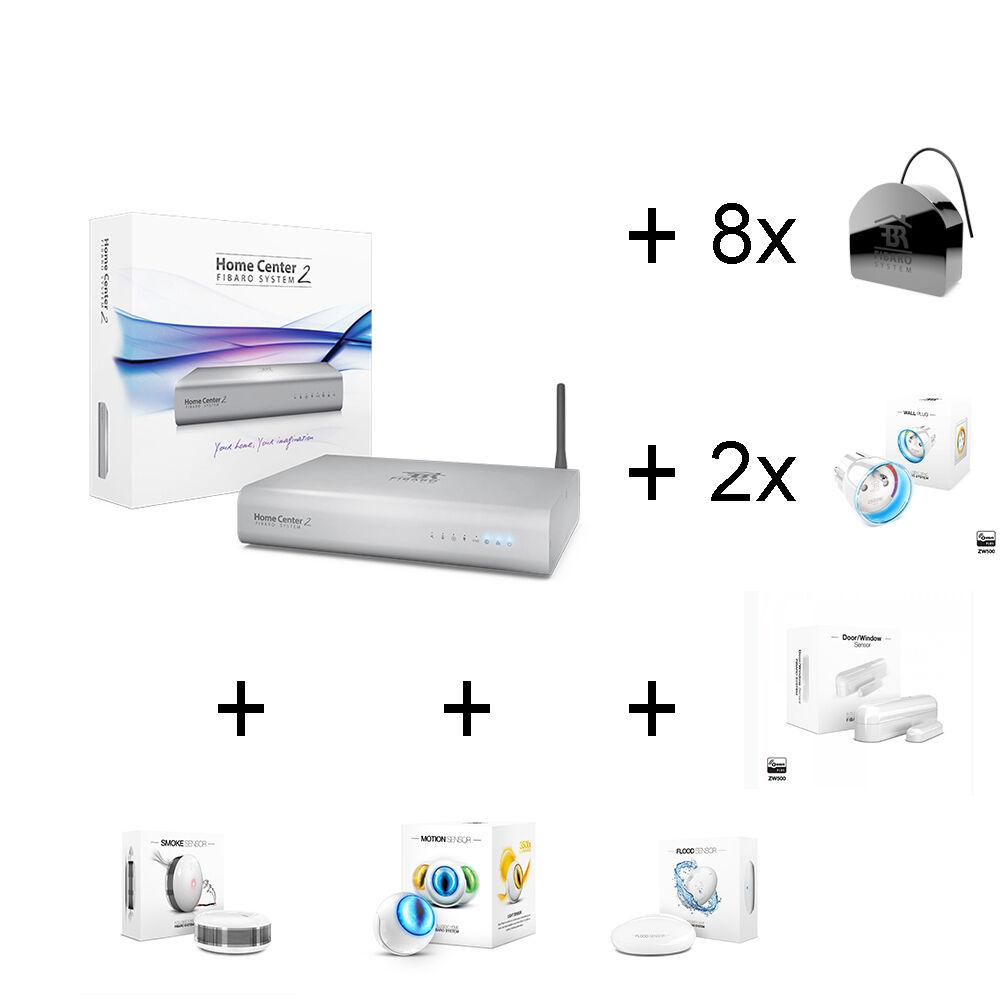 Z-Wave Home Automation Kit - Fibaro Home Center 2 + 14 Fibar
