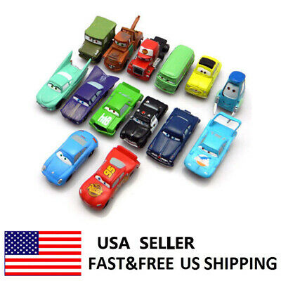Cars Lightning McQueen Mater Action Figure Doll Toys Kids Gifts 14 PCS  - Lightning Mcqueen Gifts