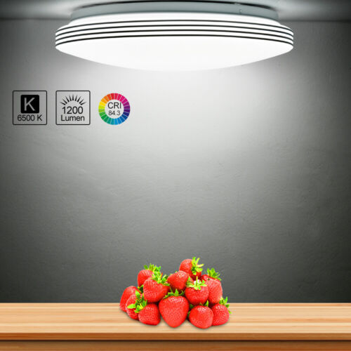 Ultra Bright 18W LED Motion Sensor Ceiling Lamp Down Light H
