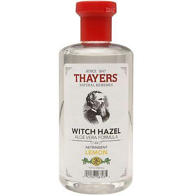 - Thayers Witch Hazel with Astringent LEMON Aloe Vera Formula Toner - 12 oz