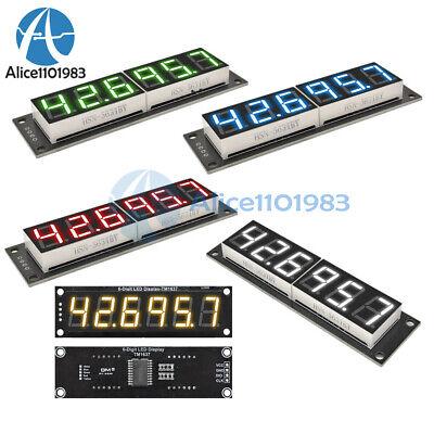 0.56 7-segment 6-digit Led Digital Display Tm1637 Tube Module Yellowgreenblue