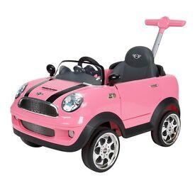 Baby mini copper push car