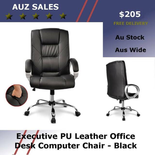 Pu Leather Office Desk Computer Chair