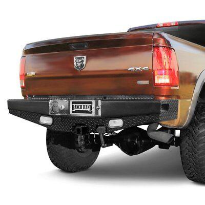 For Dodge Ram 3500 03-09 Bumper Sport Series Full Width Durable Black Powder