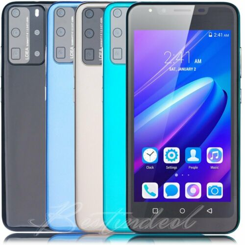 """Android Phone - 6"""" Android 8.1 Unlocked Cheap Mobile Smart Phone Quad Core Dual SIM WiFi 3G GPS"""