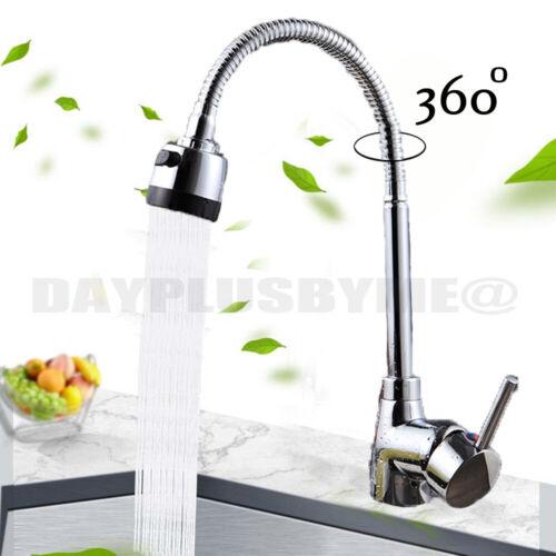 Küchenbecken Waschbecken Wasserhähne 360 Rotieren Auslauf Einhand Wasserhähne