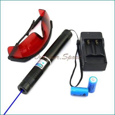BBE4-C 450nm Focus Blue laser pointer Burn Matches Light Cigarettes Lazer Torch
