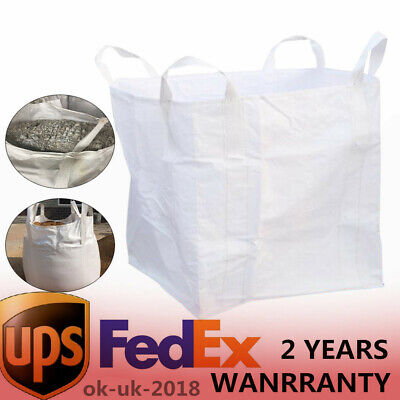 Heavy Duty bulk bags, Unused super sacks, FIBC, never used 2,200 lbs. capacity