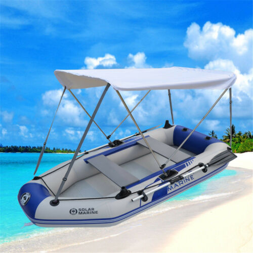 canopy aluminum boat awning built rod t inflatable cabin support boats yacht sports fishing portable for covers pontoon awnings