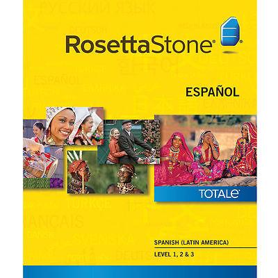 Rosetta Stone Learn Spanish  Latin America  Online Subscription  1 Year