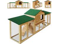 modular rabbit/ small rodent hutch and run
