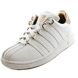 4ffcc99c0adf K-Swiss Classic VN Aged Foil Ladies Sneaker Shoes Leather White Rose Gold  UK 4. About this product. Stock photo  Picture 1 of 1. Stock photo