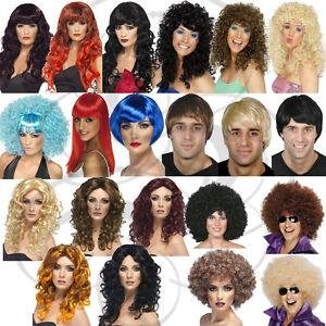 Enorme-Afro-Curl-Tipo-Carnaval-Fiesta-De-Disfraces-Disfraz-Cosplay-Ondulado-Moda-Pelucas