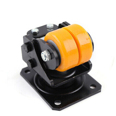 22.53 Agv Shock Absorber Driven Wheel Heavy Duty Swivel Plate Caster Wheels