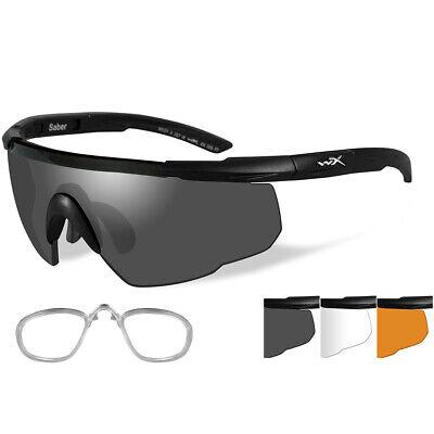Sport RX 308RX Wiley X Saber Advanced Sunglasses - Smoke Grey/clear/rust - (Wiley X Saber Advanced Sunglasses)