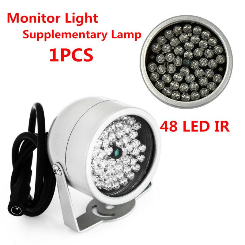 1x Car Home 48LED IR Infrared Night Vision Illuminator CCTV Security Camera Lamp