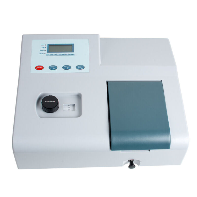 Digital Visible Spectrophotometer 721 Lab Equipment Spectrometer 350-1020nm