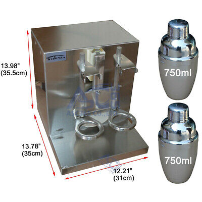 Drink Bubble Boba Milk Tea Shaker Shaking Machine Mixer-blender Milkshake Bar
