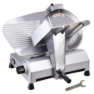 Commercial 12 Blade Meat Slicer Deli Meat Cheese Food Cutter Industrial 440rpm