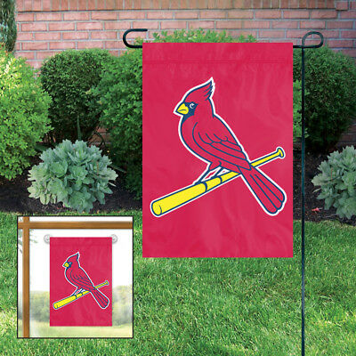 2 St Louis Cardinals MLB Mini Flag Garden / Window 15