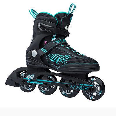 K2 Kinetic 80 Women Inliner Skates Inline Skating Fahrspaß Komfort (Gr. 36)