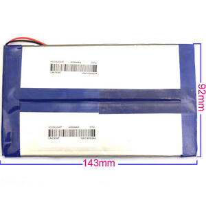 3.7v 8000mah Replacement Battery for NATPC X210 10.1