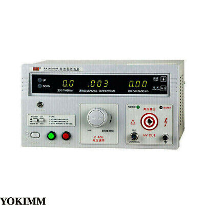 110v Withstand Hi-pot Tester Acdc 5kv Acdc Dielectric Strength Tester Puncture