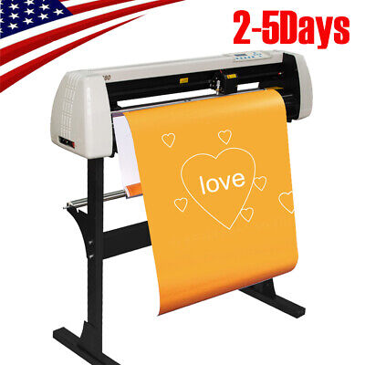 28 Inch Plotter Machine 720mm Paper Feed Vinyl Cutter Sign Cutting Plotter 110v