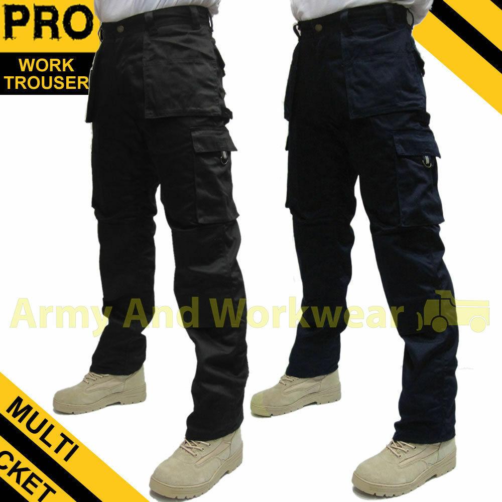 2 x Work Trouser Workwear Trade Multi Pocket Tough Extreme P