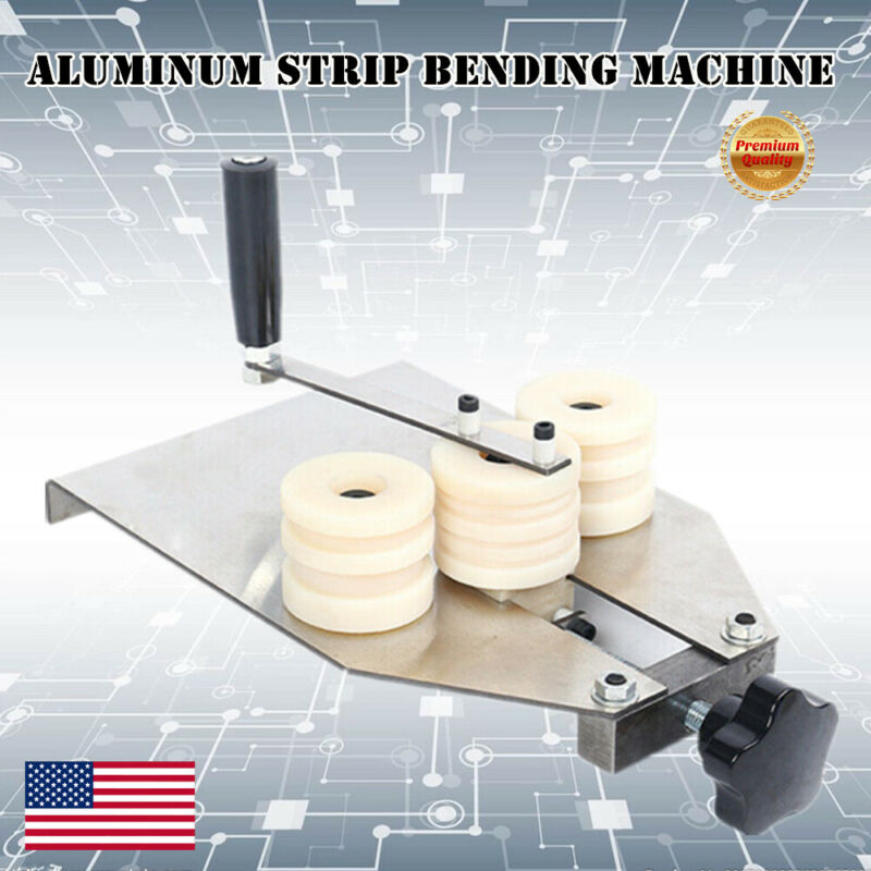 Hollow Aluminum Strip Bending Machine Bending Tool For Semicircle Curved Round